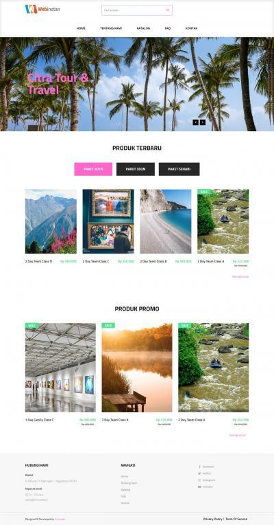 Web Instan - Toko Online